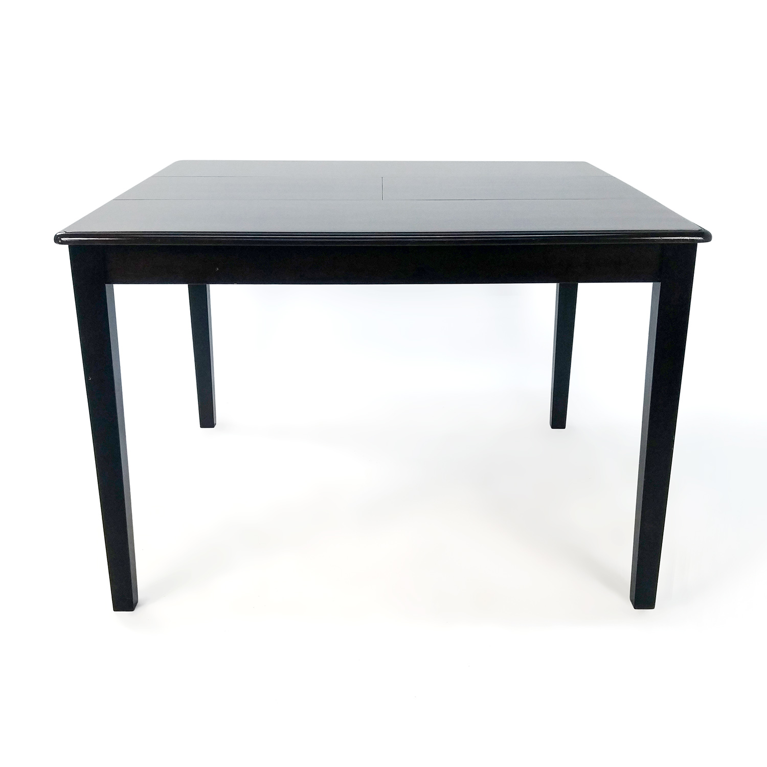 90 off ebonized oak dining table tables for Shop dining tables