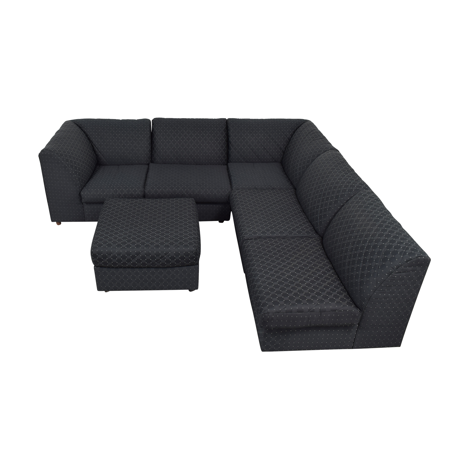 Broyhill Furniture Broyhill Furniture Corner Sectional with Ottoman discount