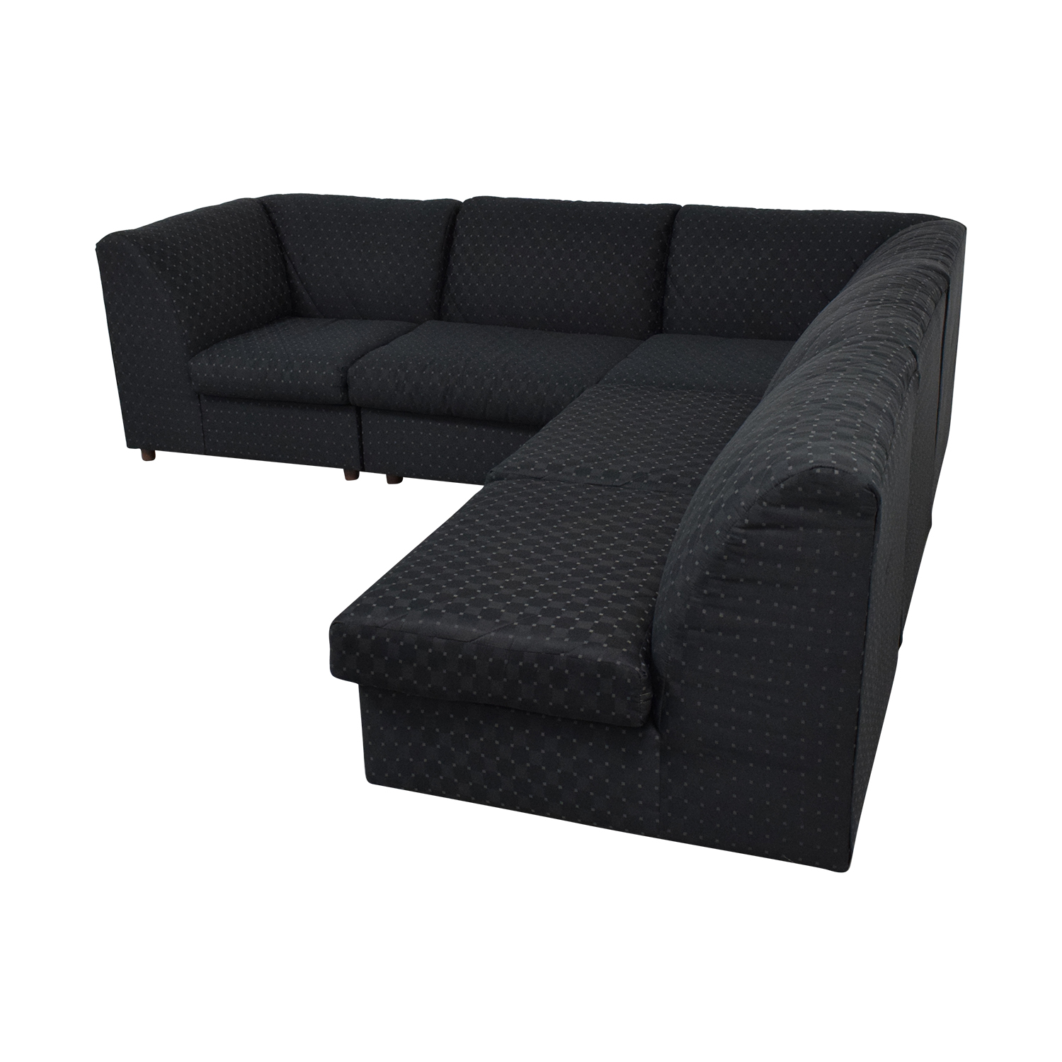 Broyhill Furniture Broyhill Furniture Corner Sectional with Ottoman pa