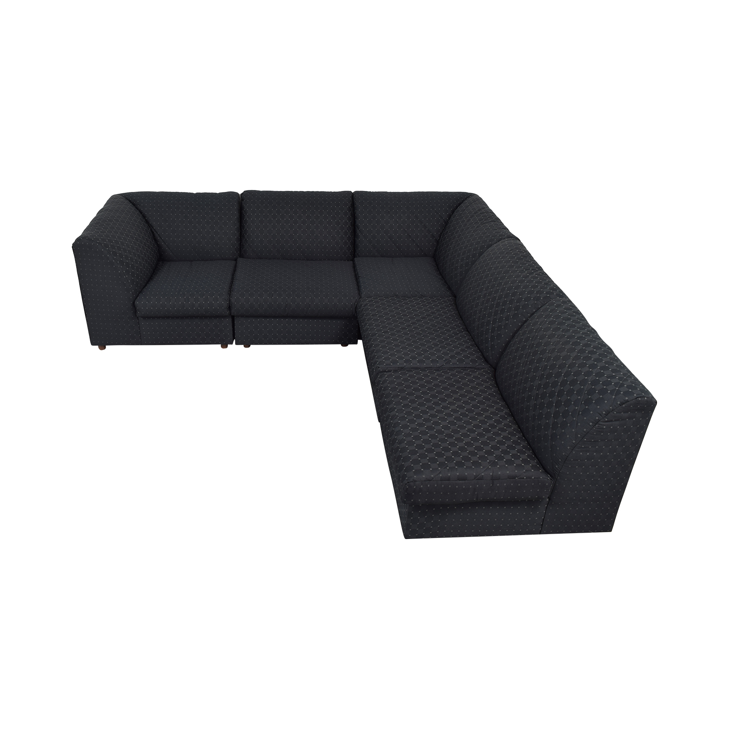 Broyhill Furniture Broyhill Furniture Corner Sectional with Ottoman nyc