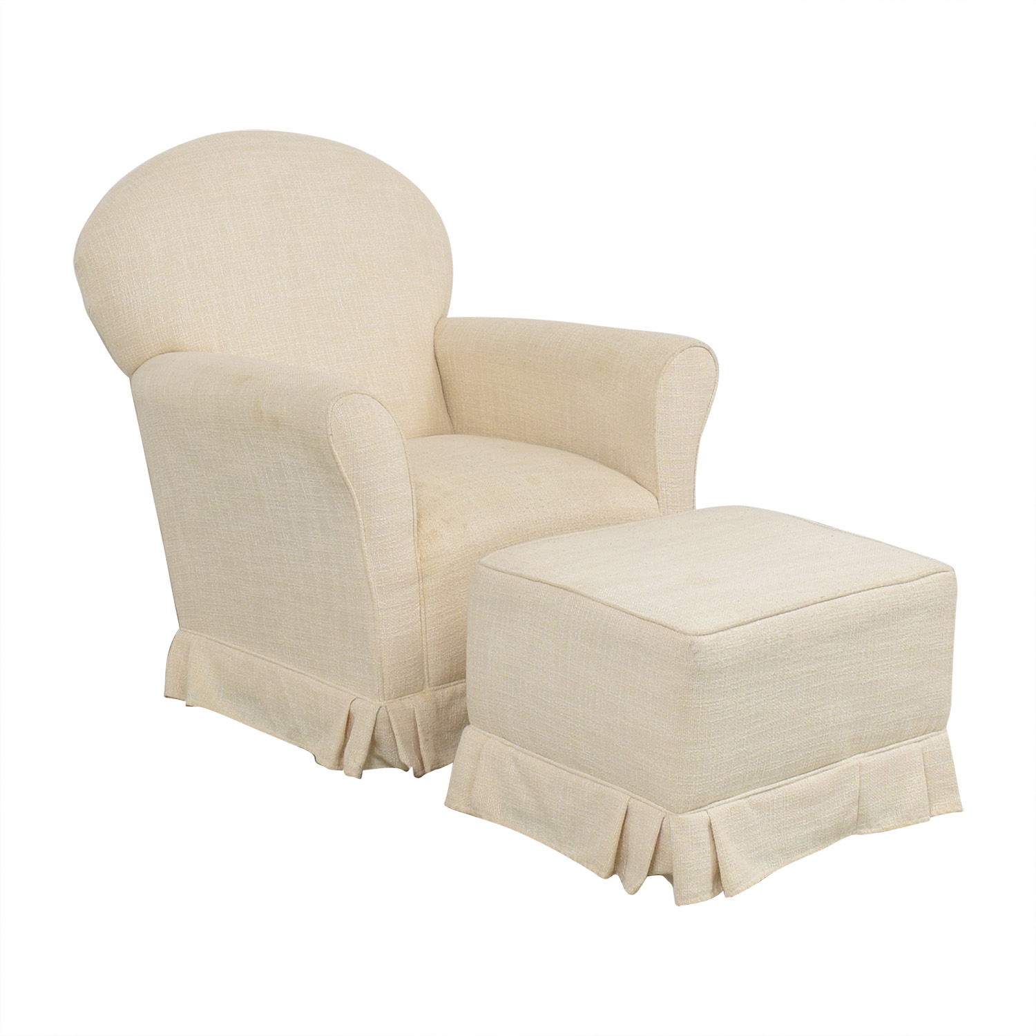 buy Little Castle Furniture Little Castle Furniture Glider Chair and Ottoman online