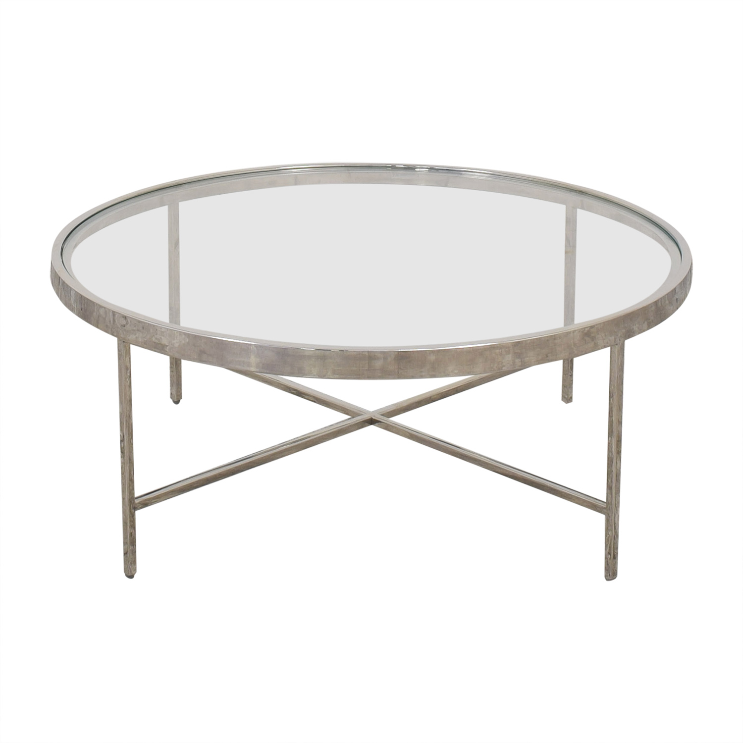 Mitchell Gold + Bob Williams Mitchell Gold + Bob Williams Vienna Round Cocktail Table discount
