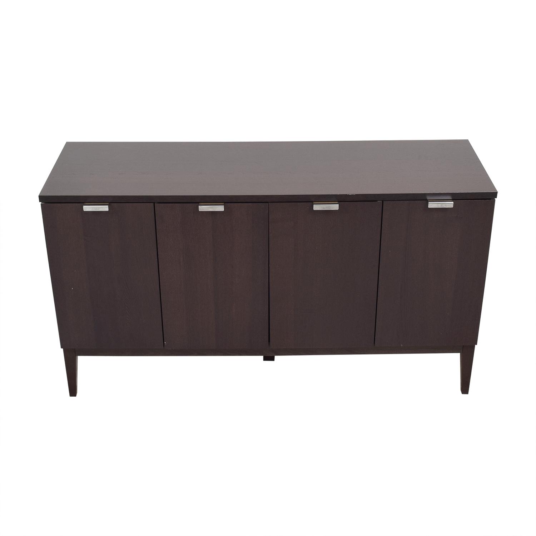 shop Crate & Barrel Credenza Crate & Barrel Cabinets & Sideboards