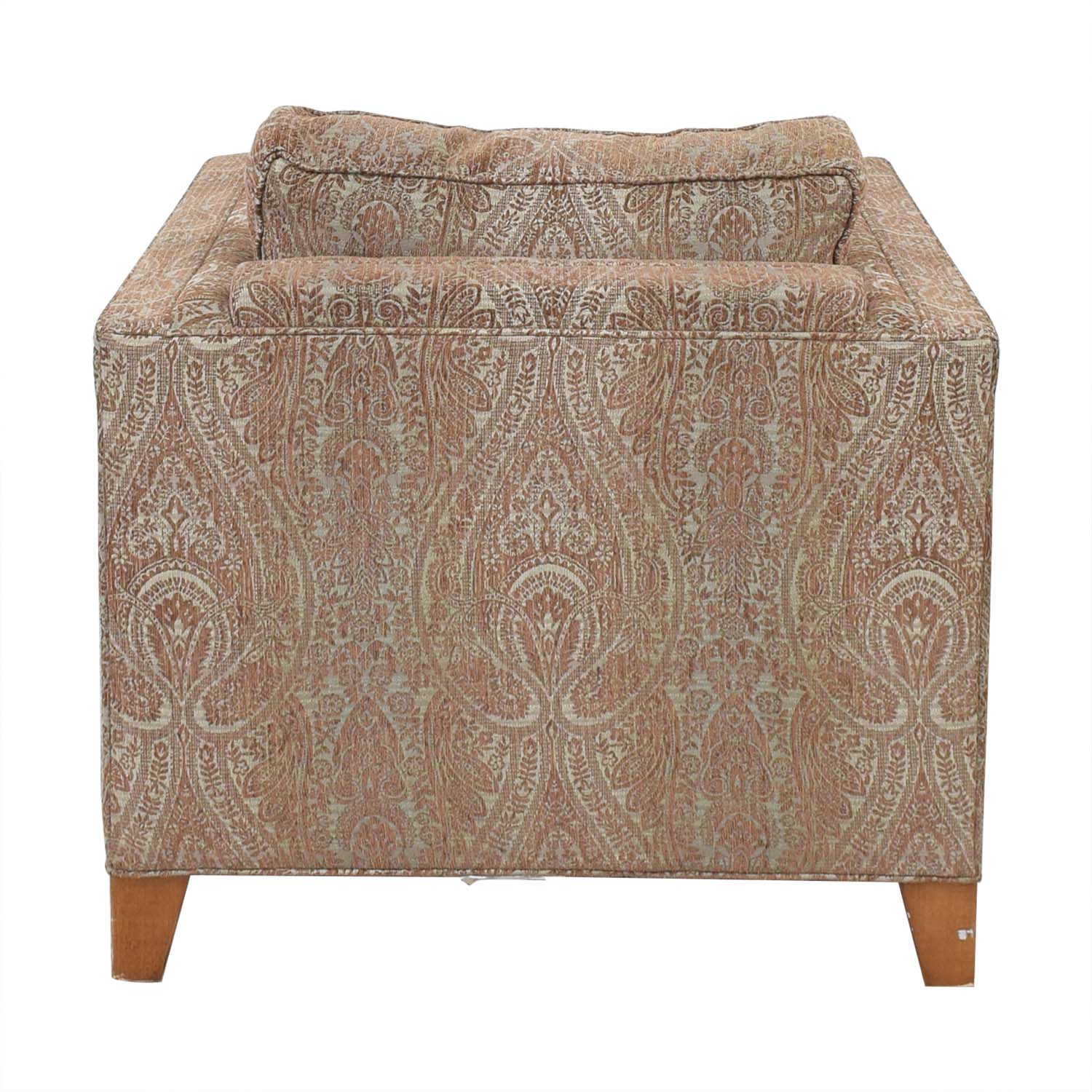 Crate & Barrel Crate & Barrel by Mitchell Gold + Bob Williams Paisley Print Club Chair price