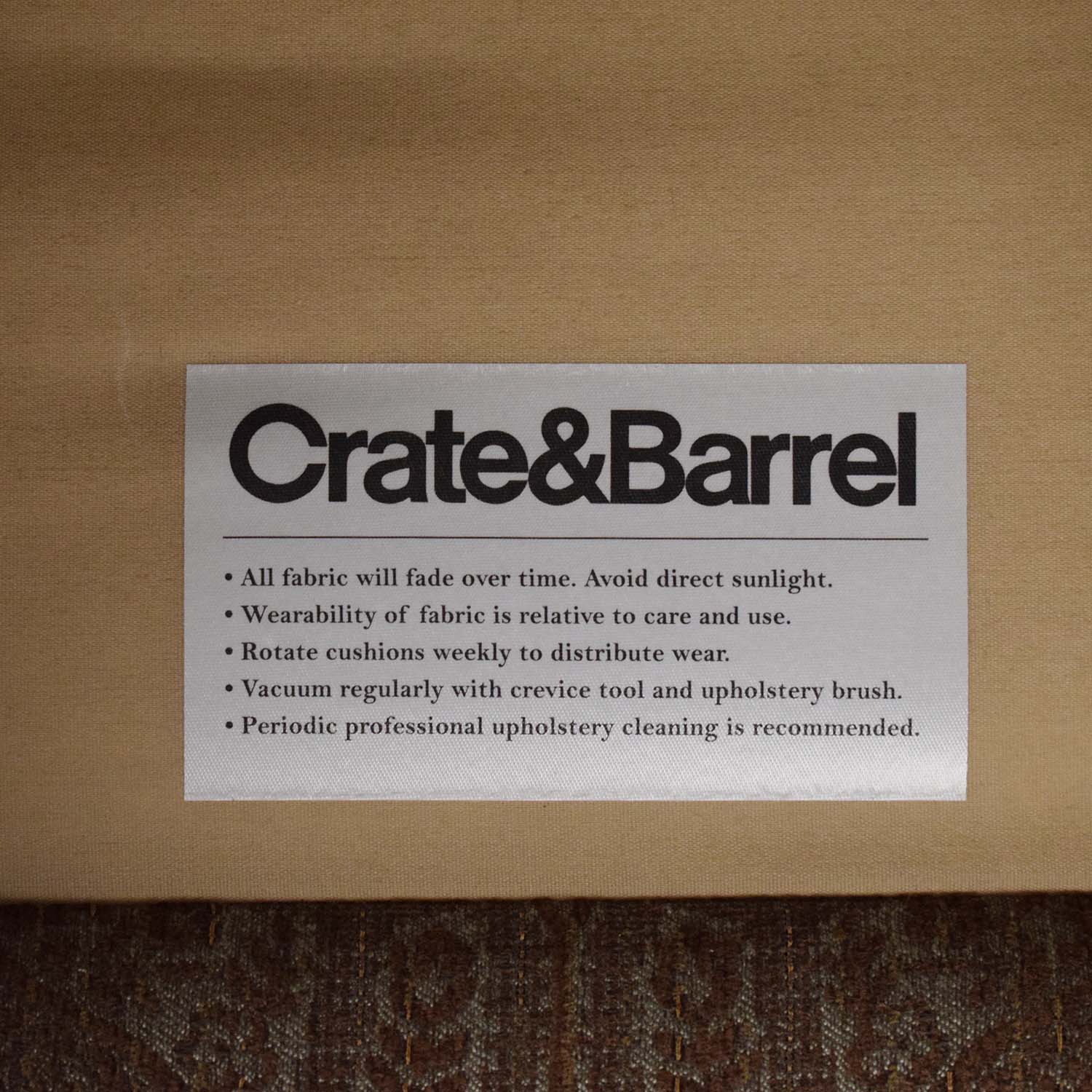 shop Crate & Barrel by Mitchell Gold + Bob Williams Paisley Print Club Chair Crate & Barrel