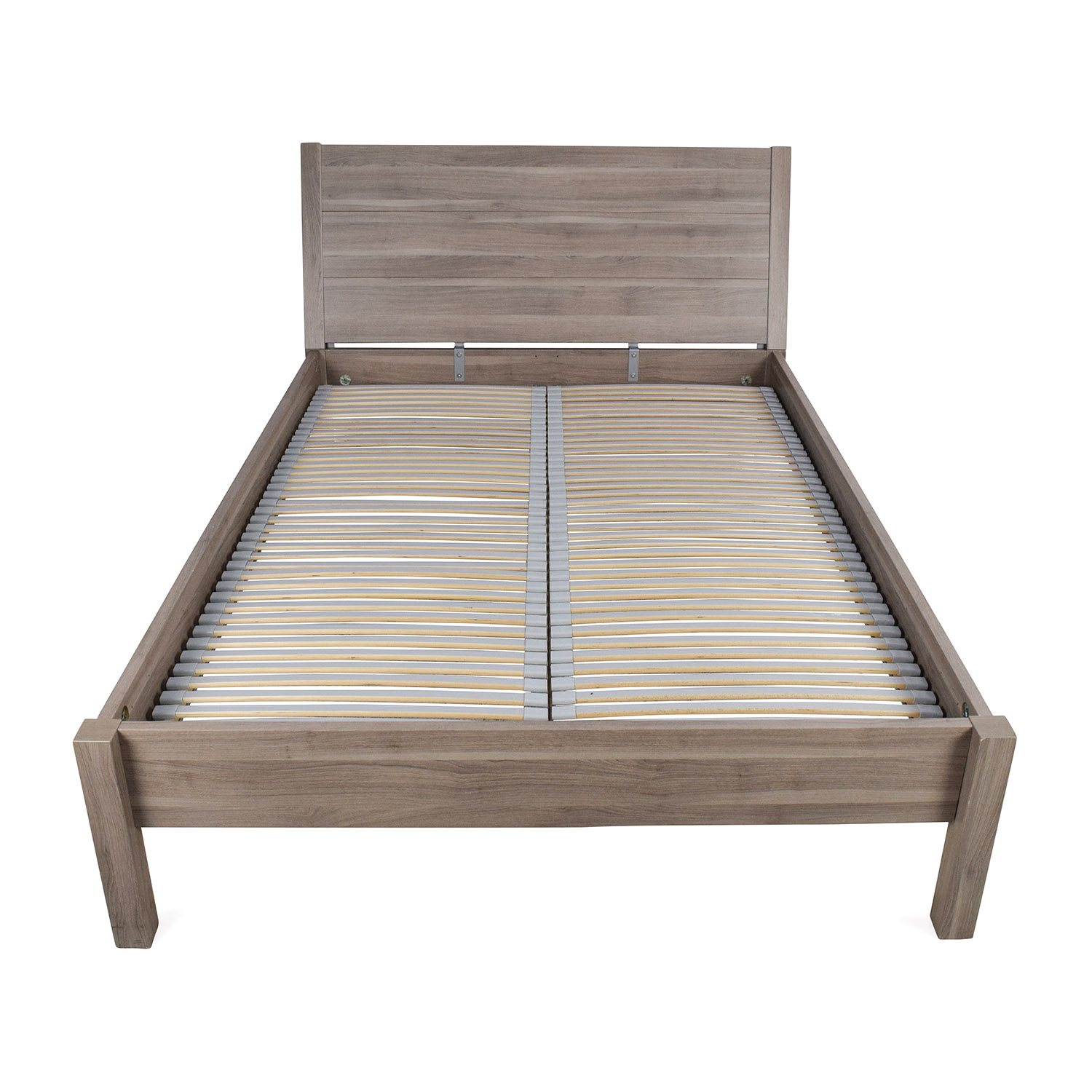 Ikea Full Size Pewter Bed Frame Dimensions