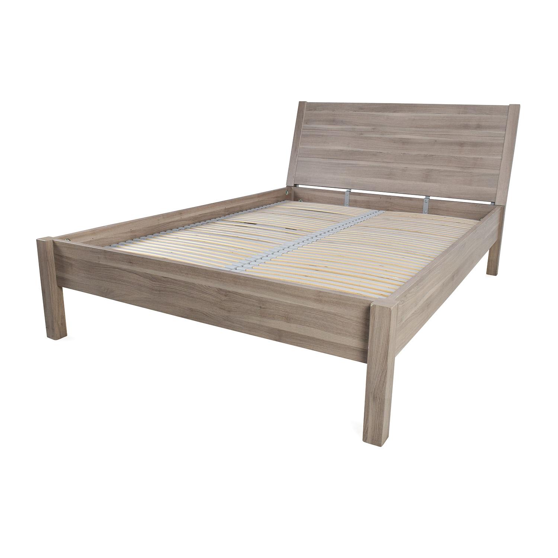IKEA IKEA Full Size Pewter Bed Frame nj