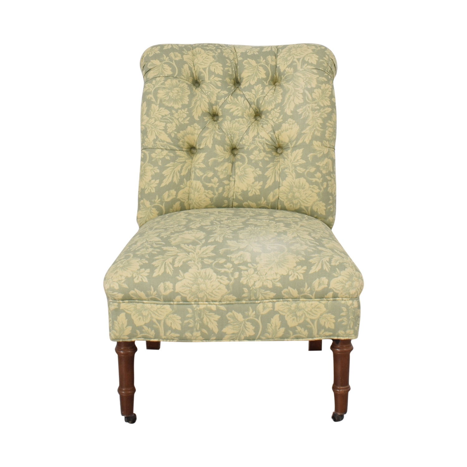Lee Industries Armless Tufted Chair sale