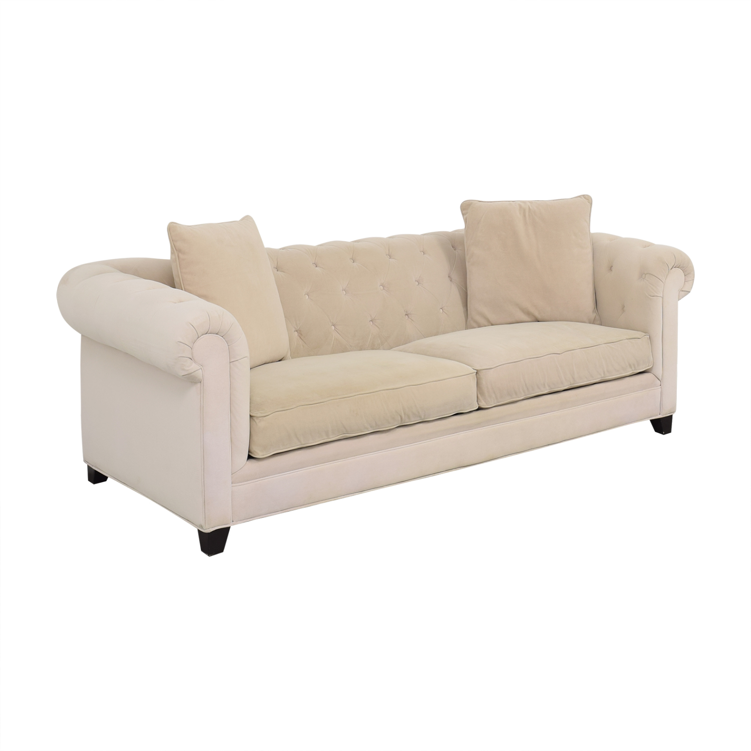 Macy's Macy's Martha Stewart Collection Saybridge Sofa dimensions