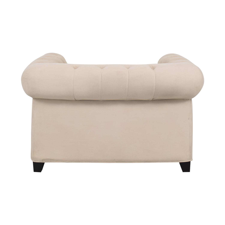 Macy's Martha Stewart Collection Fabric Armchair sale