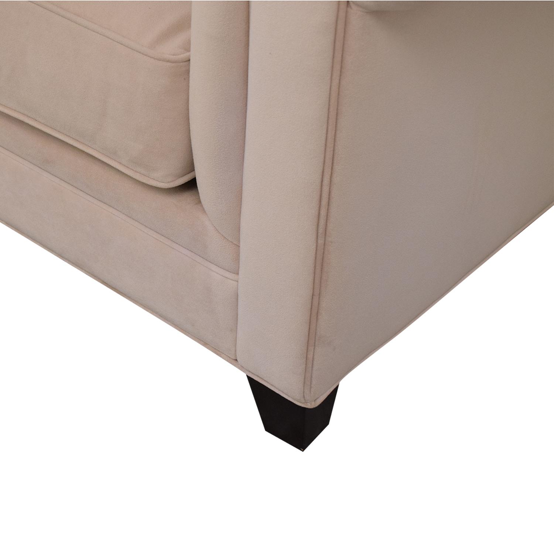 Macy's Martha Stewart Collection Fabric Armchair Macy's