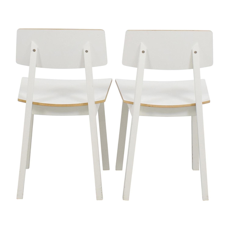 IKEA IKEA White Chairs White