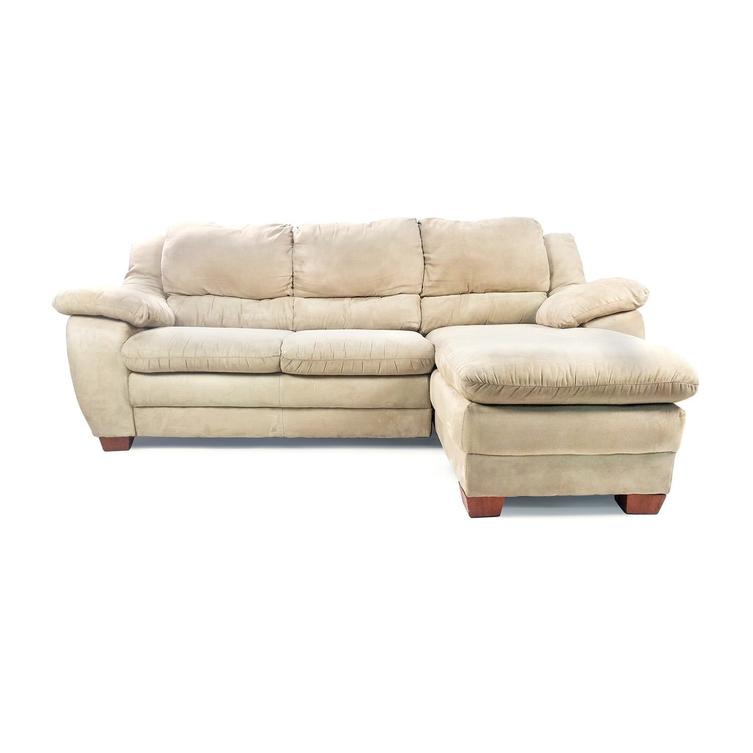 Jennifer Microfiber Sectional / Sofas