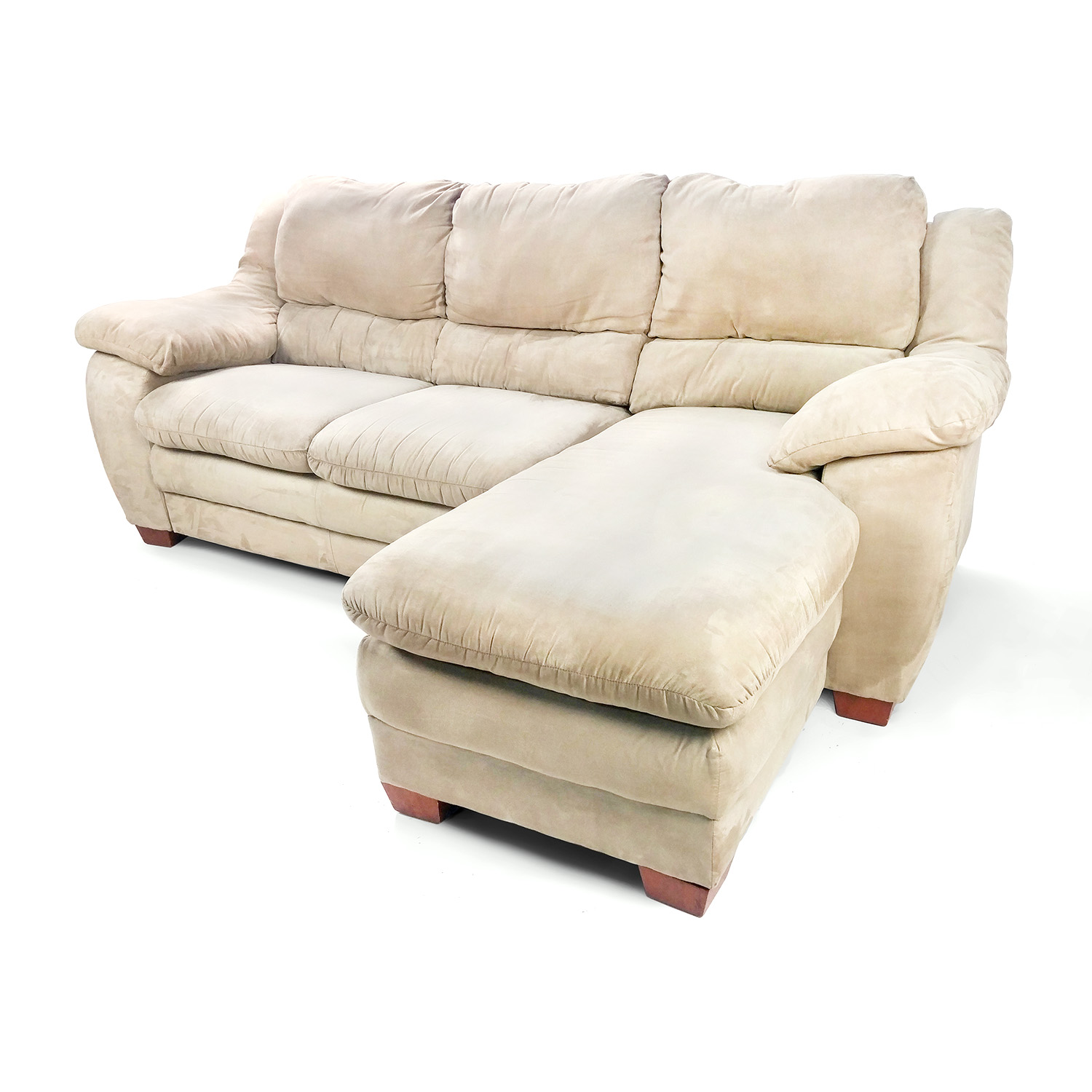 Jennifer convertibles microfiber sectional sofa refil sofa for Microfiber sectional sofa