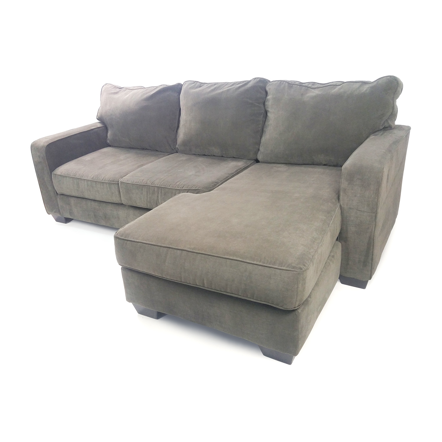 50 off ashley furniture hodan sofa chaise sofas for Sofa bed ashley furniture