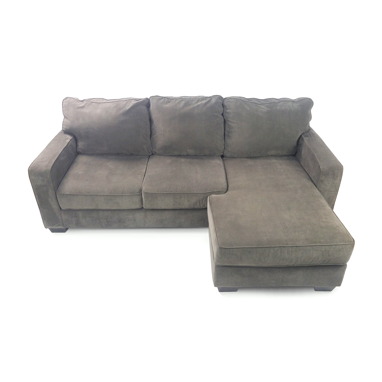 Hodan sofa chaise ashley furniture hodan sofa chaise for Ashley furniture couch with chaise