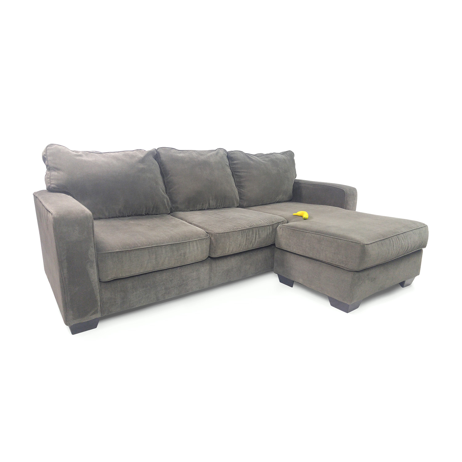 50 off ashley furniture hodan sofa chaise sofas for Ashley chaise lounge recliner