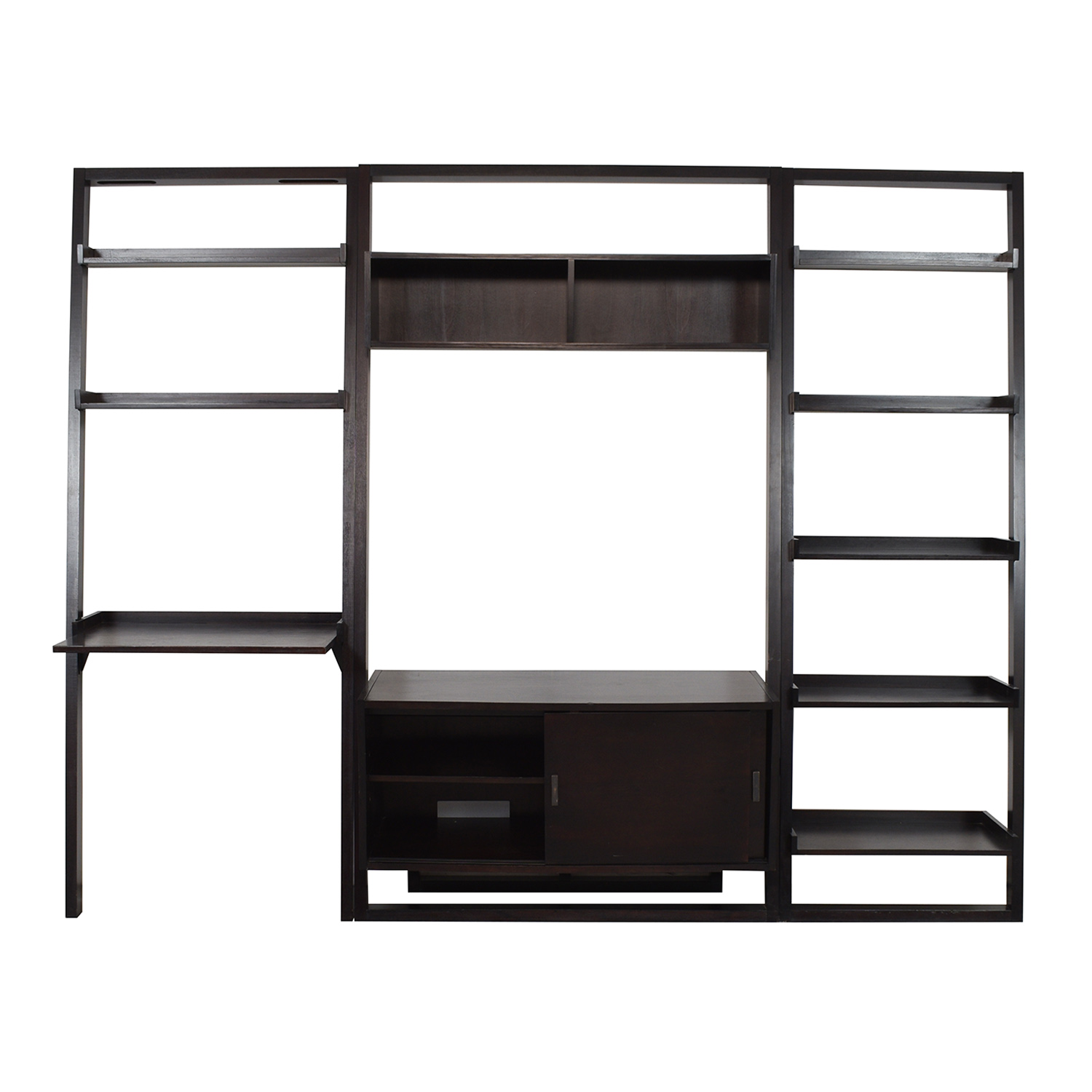 Crate & Barrel Crate & Barrel Sloane Leaning Bookcase Storage