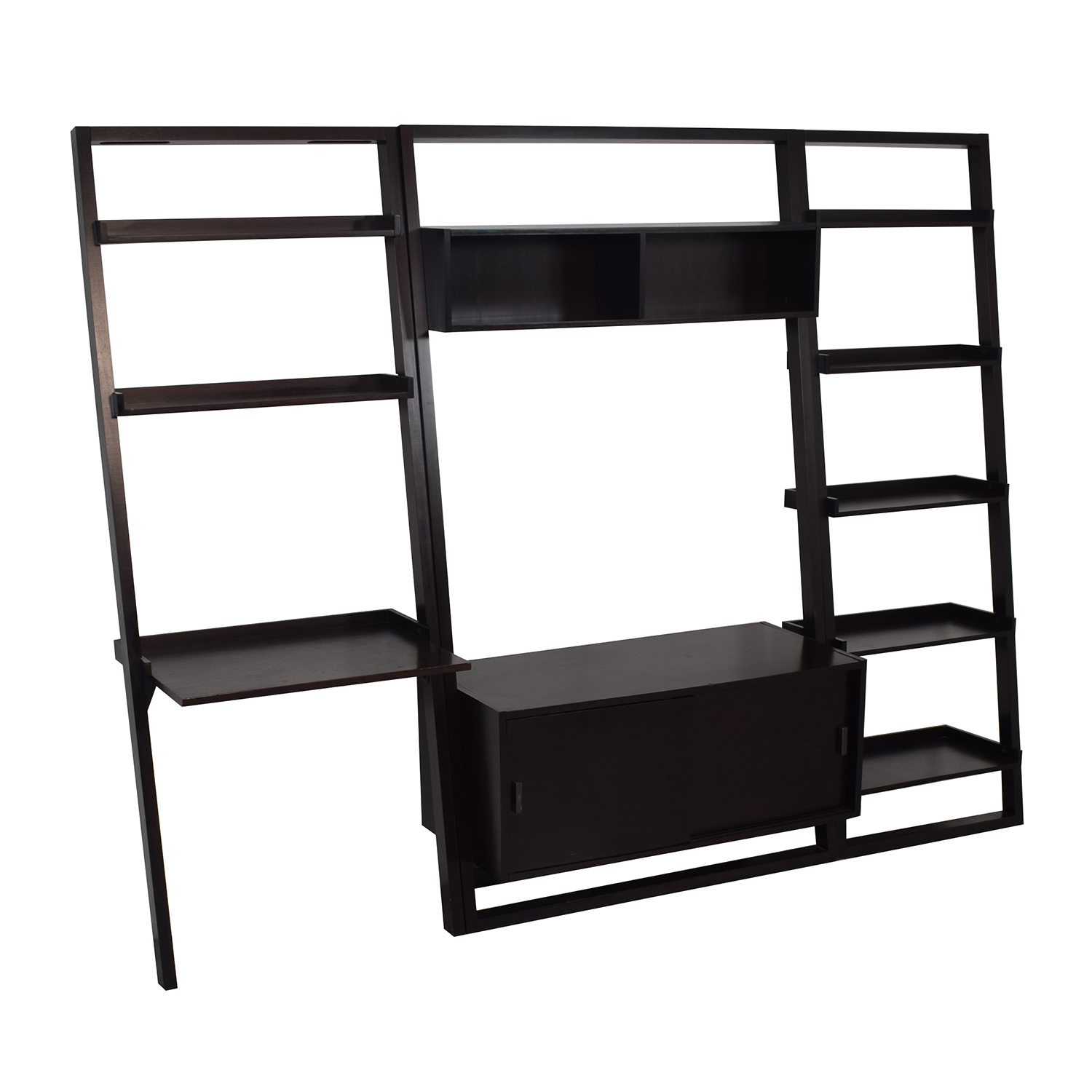 Crate & Barrel Crate & Barrel Sloane Leaning Bookcase used