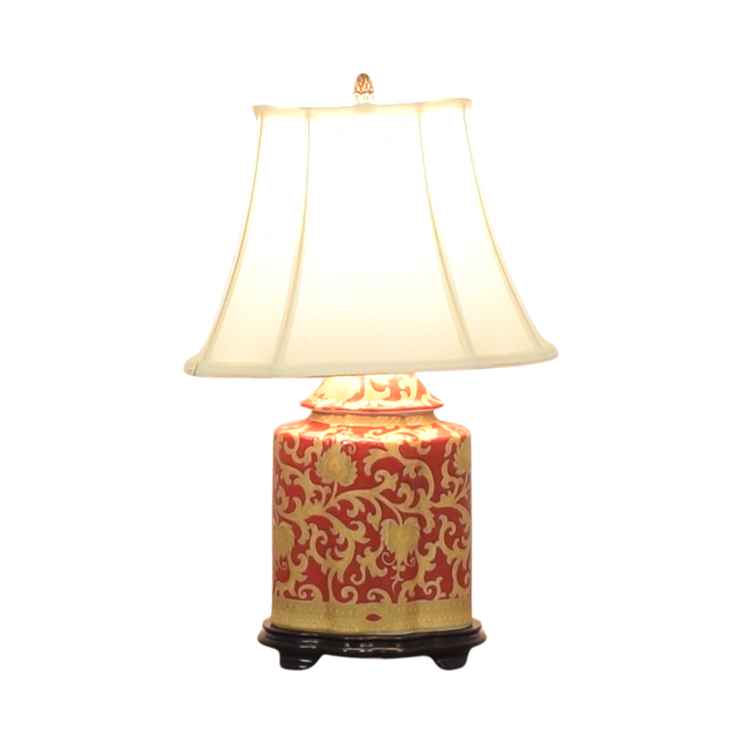 shop  Porcelain Hand Painted Scalloped Lamp online