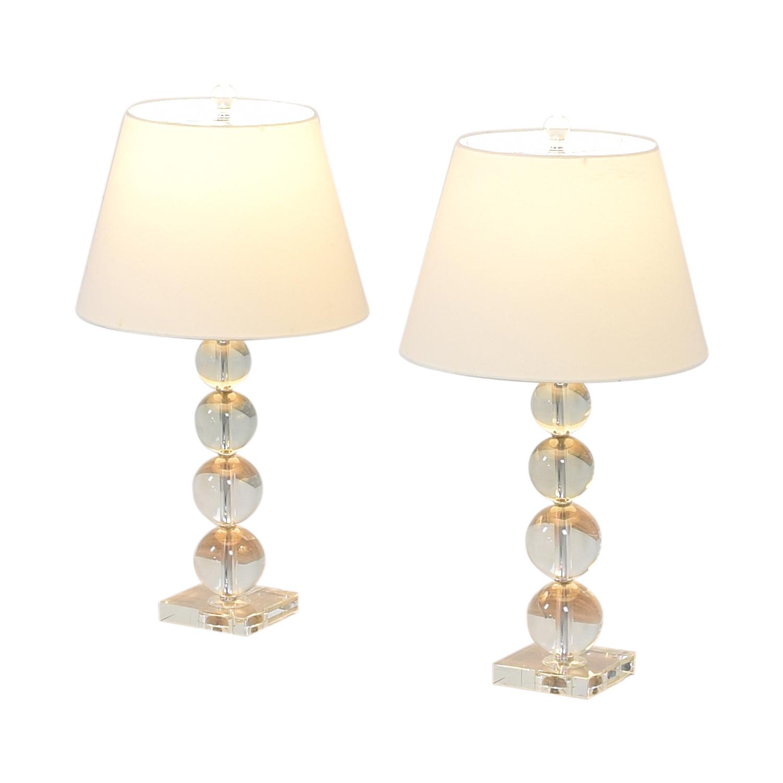 Macy's Macy's Bubble Table Lamps for sale