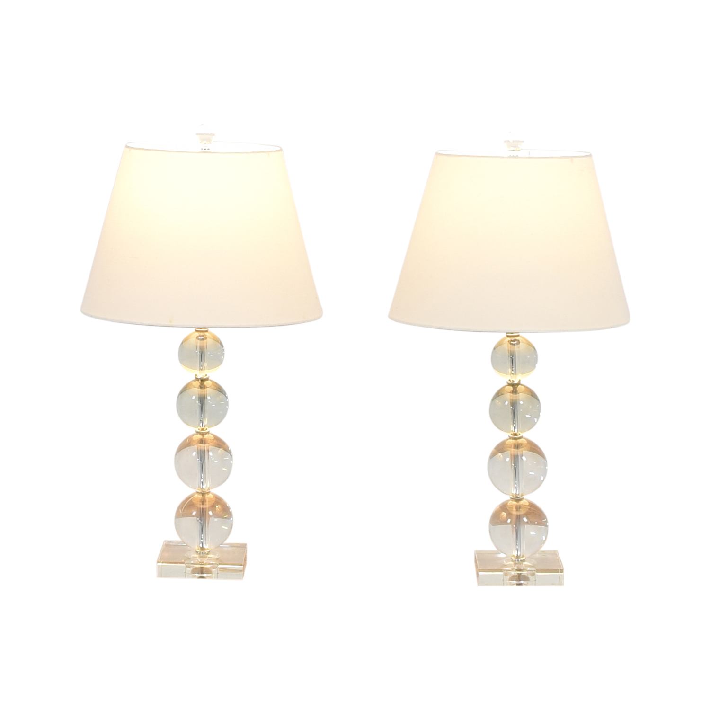 Macy's Macy's Bubble Table Lamps discount
