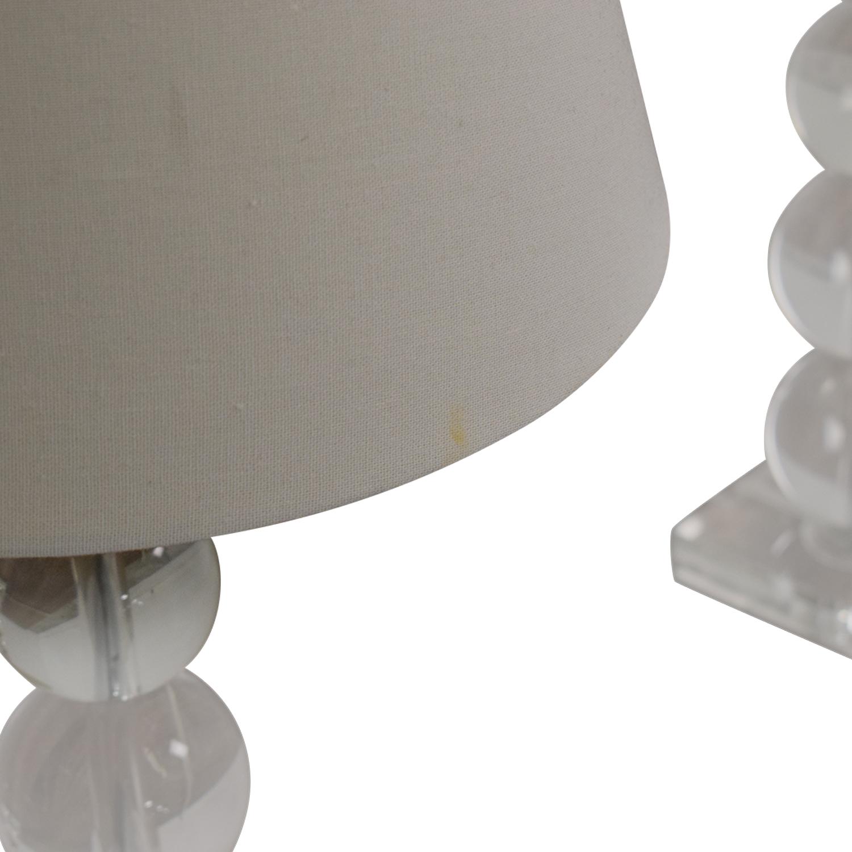 Macy's Macy's Bubble Table Lamps dimensions