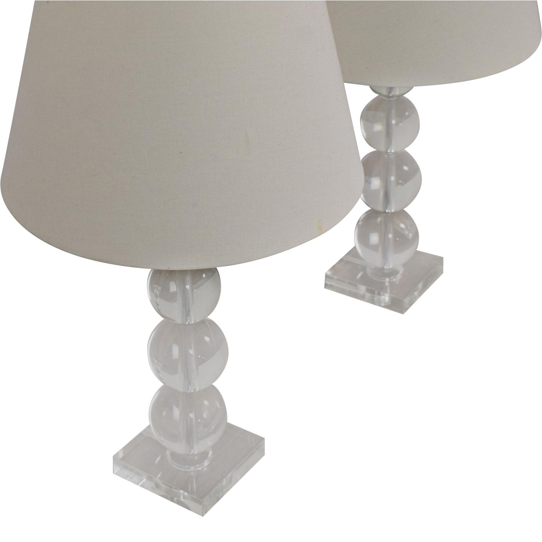 Macy's Bubble Table Lamps / Lamps
