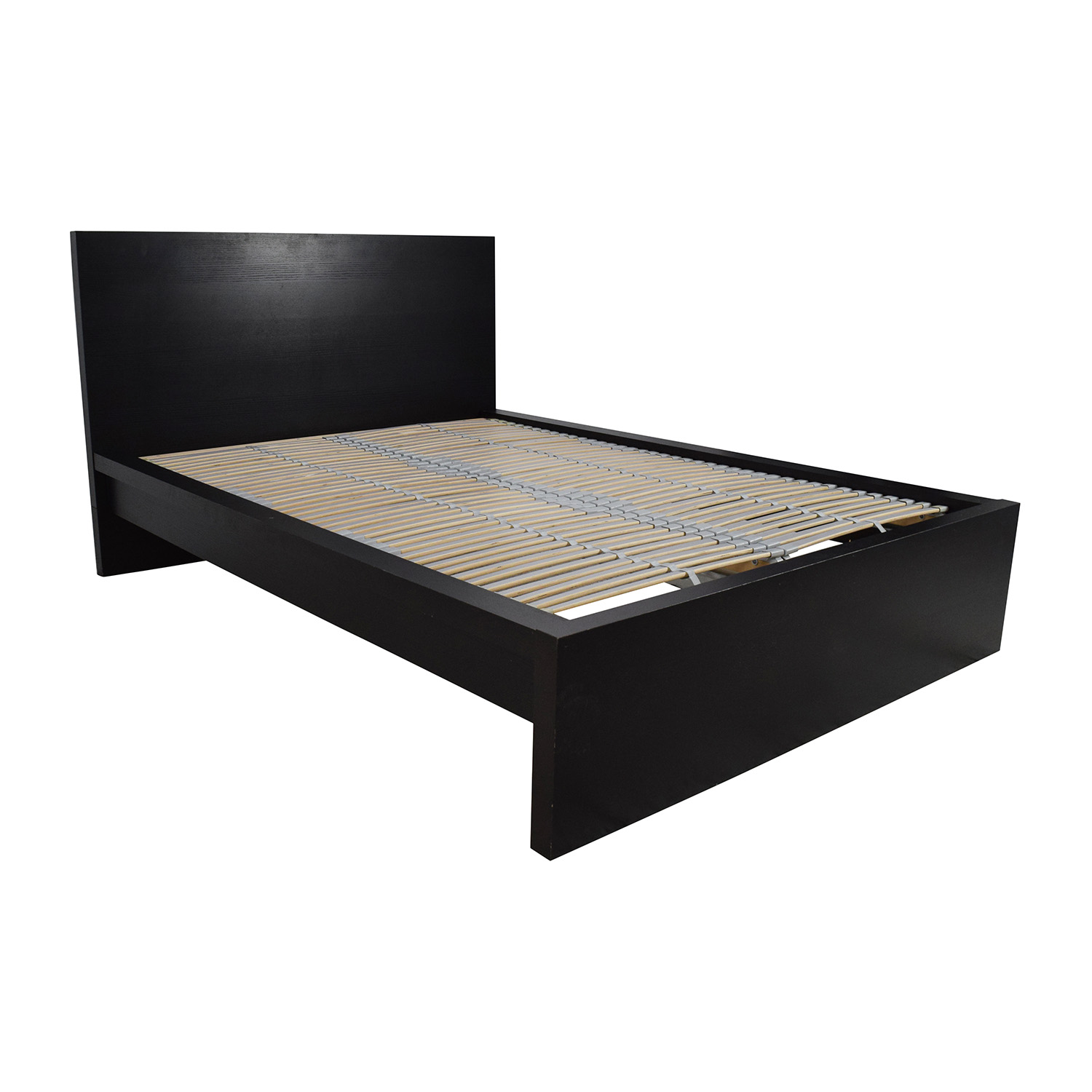 77% OFF - IKEA IKEA Full Bed Frame with Adjustable Slats / Beds