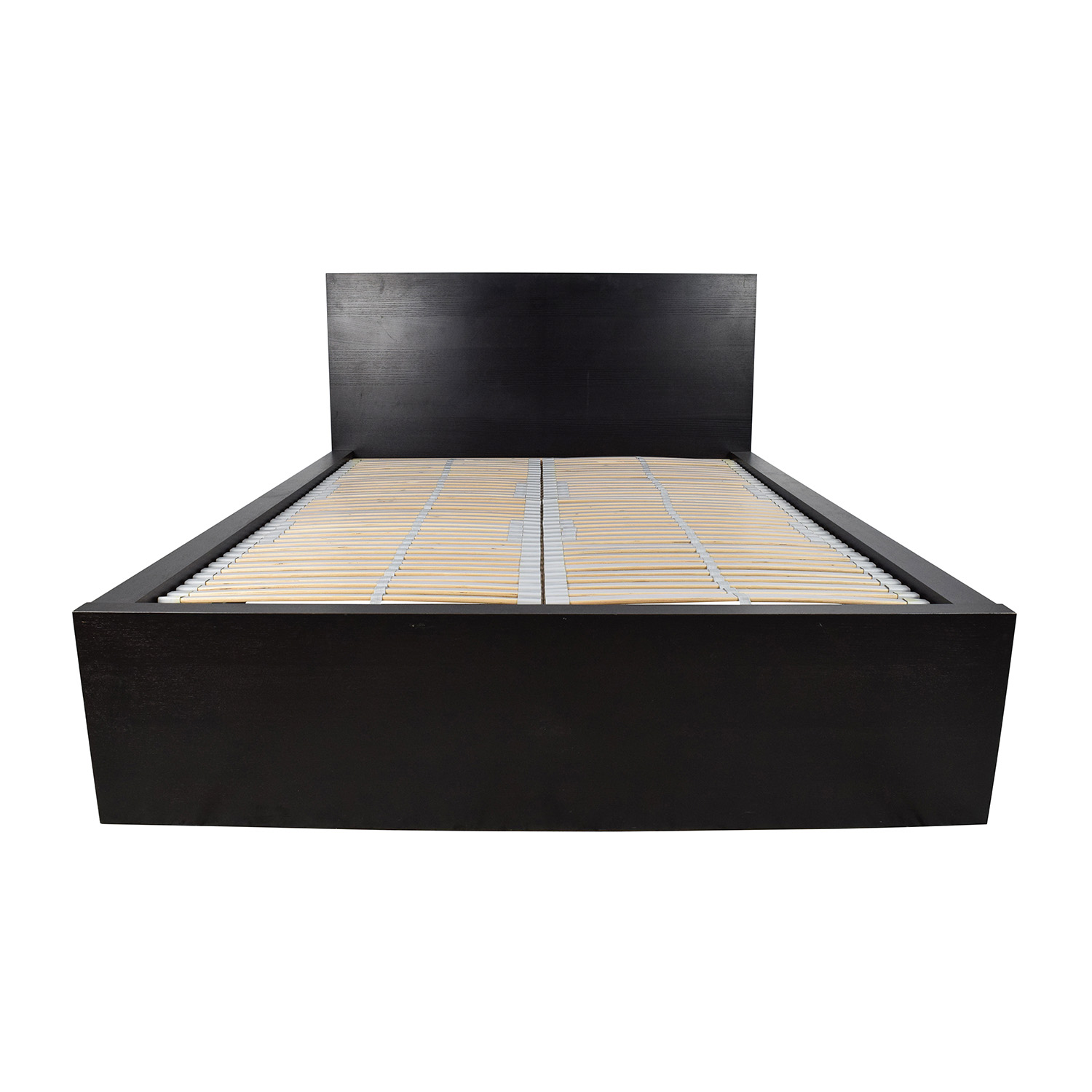 Full Bed Frame.77 Off Ikea Ikea Full Bed Frame With Adjustable Slats Beds
