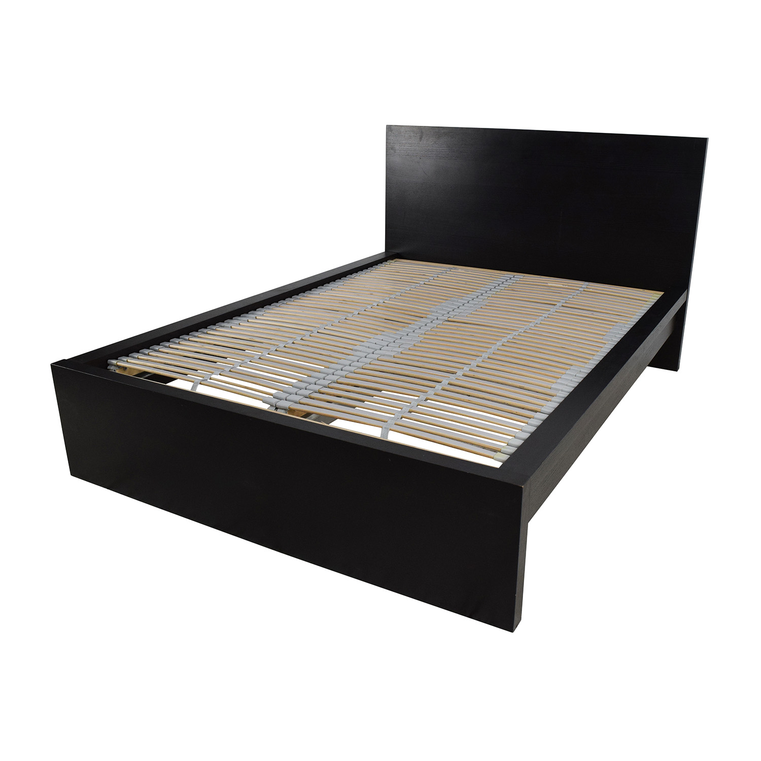 77 off ikea ikea full bed frame with adjustable slats beds. Black Bedroom Furniture Sets. Home Design Ideas