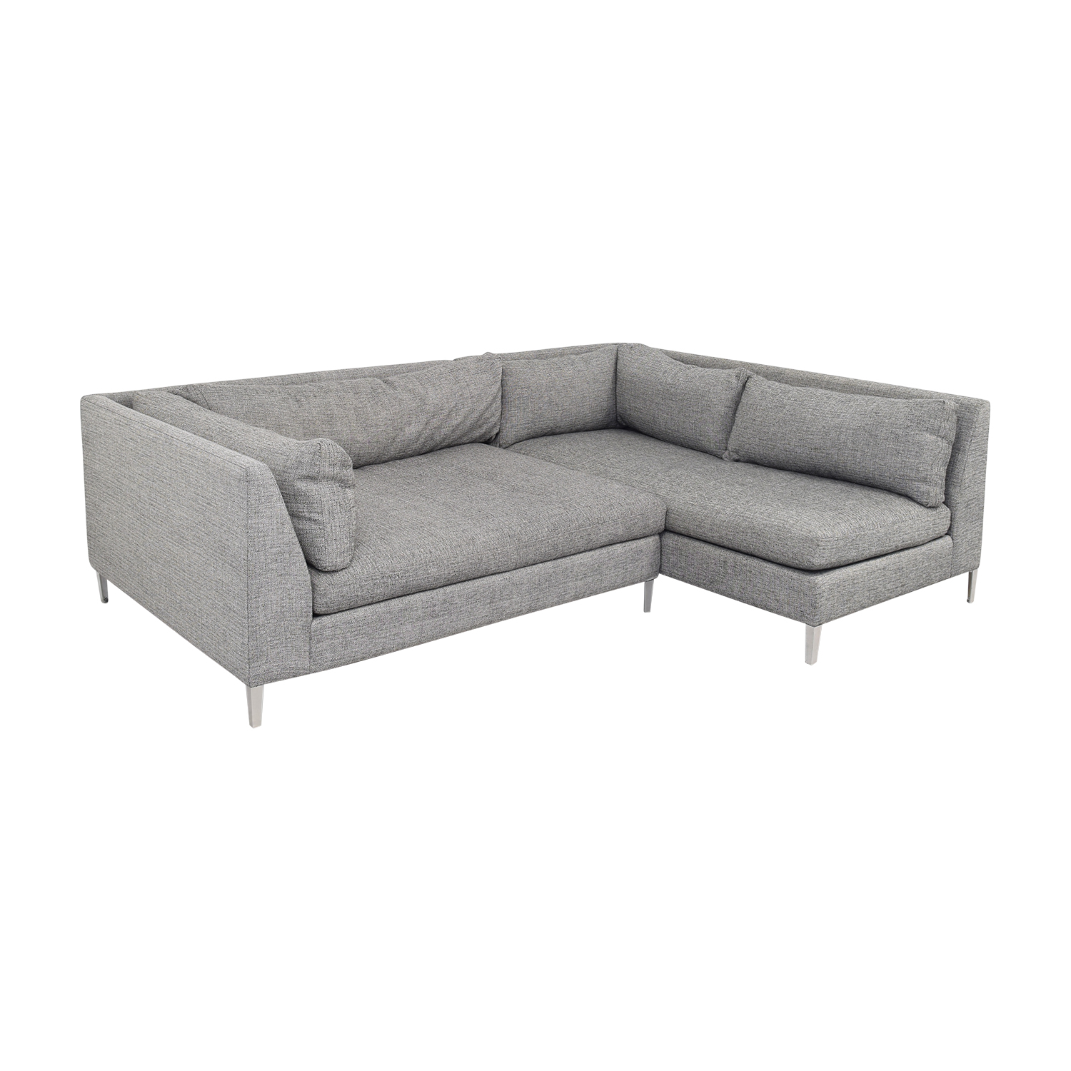 CB2 CB2 Two Piece Sectional Sofa with Chaise coupon