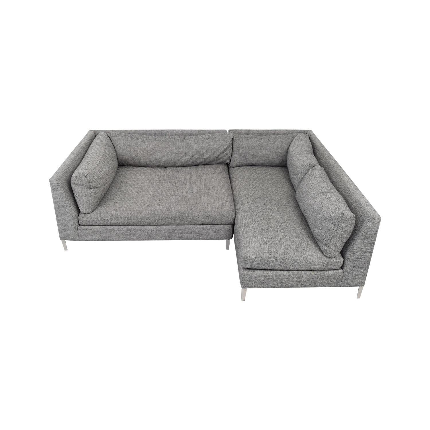 buy CB2 Two Piece Sectional Sofa with Chaise CB2 Sofas