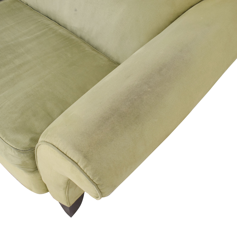 Rowe Furniture Rowe Furniture Roll Arm Sofa Classic Sofas