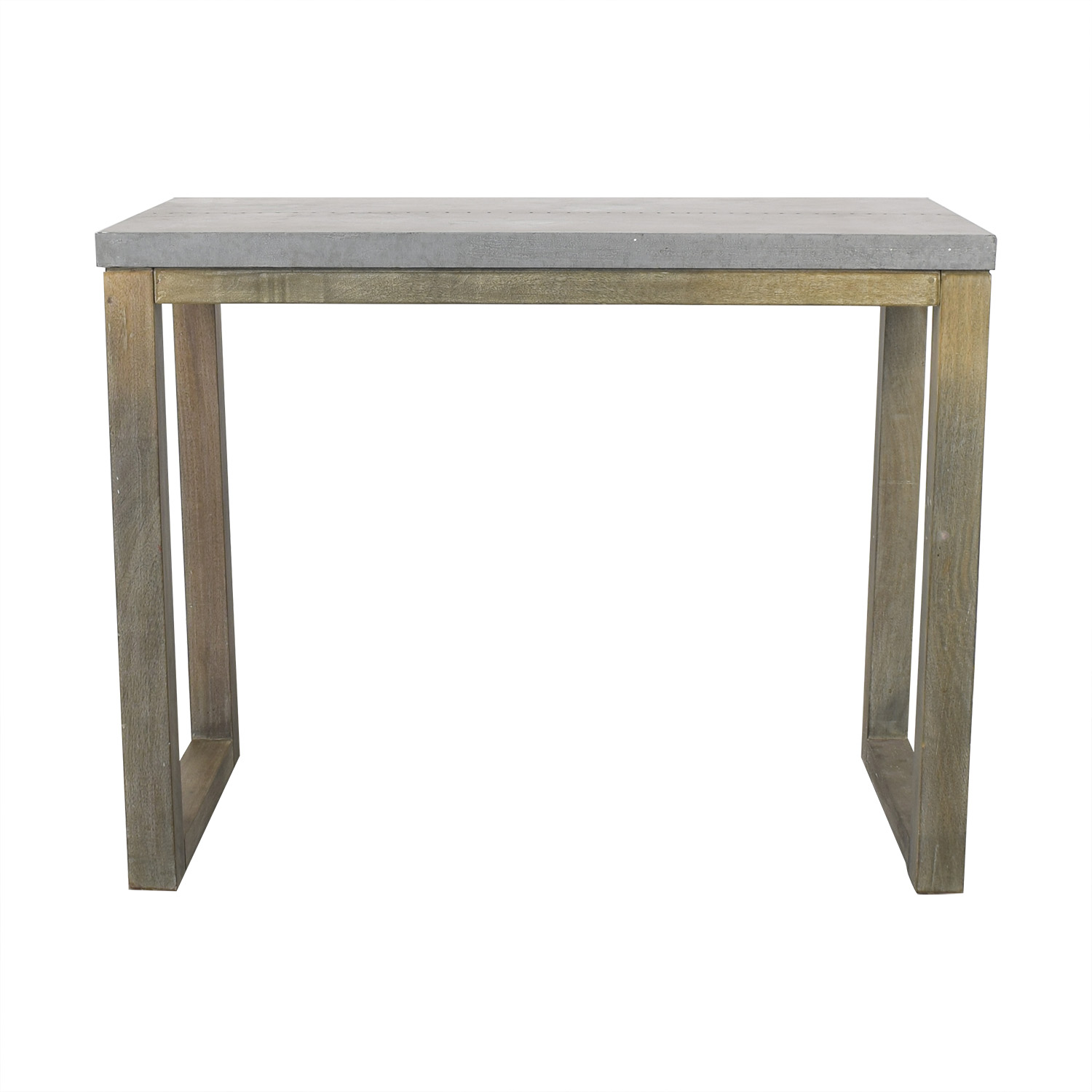 CB2 CB2 Stern Counter Table on sale