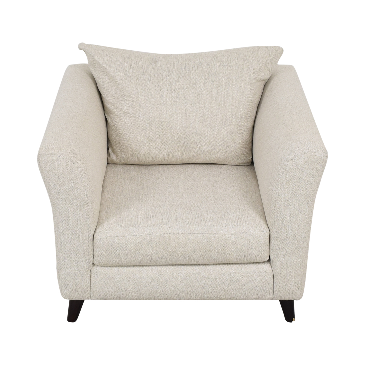 Raymour & Flanigan Raymour & Flanigan Accent Chair white