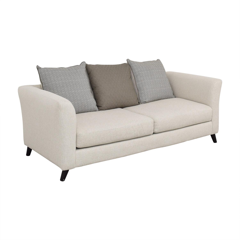 Raymour & Flanigan Raymour & Flanigan Sofa with Pillows price