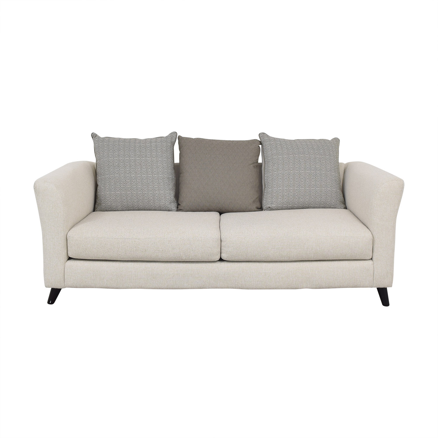 Raymour & Flanigan Raymour & Flanigan Sofa with Pillows coupon