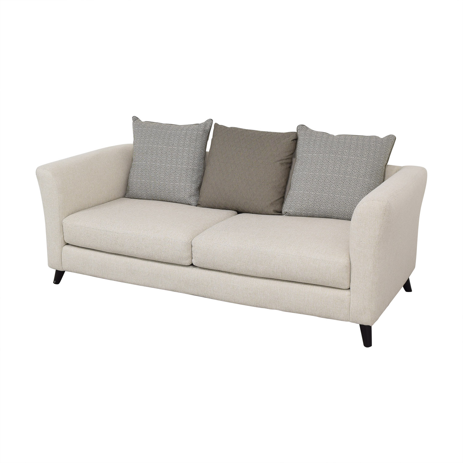 Raymour & Flanigan Raymour & Flanigan Sofa with Pillows second hand
