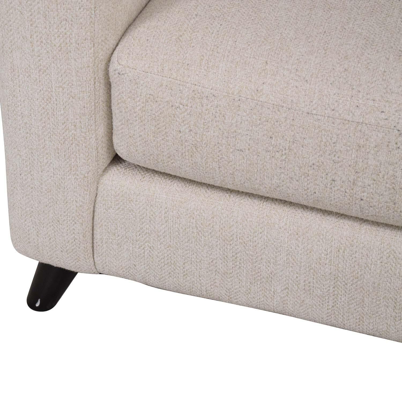 Raymour & Flanigan Raymour & Flanigan Sofa with Pillows Sofas