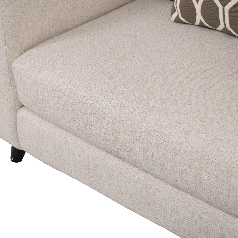 buy Raymour & Flanigan Sofa with Pillows Raymour & Flanigan Sofas