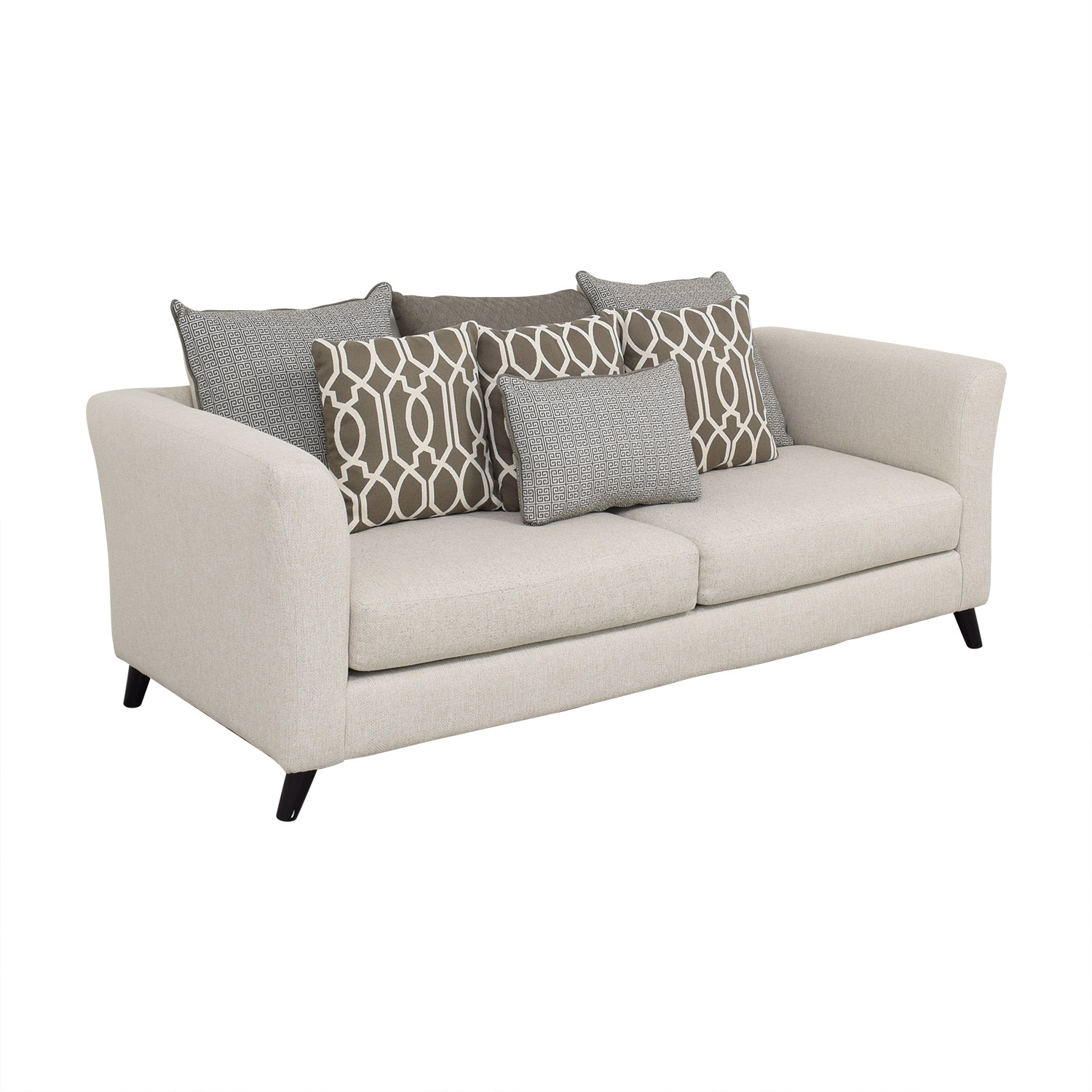 buy Raymour & Flanigan Raymour & Flanigan Sofa with Pillows online