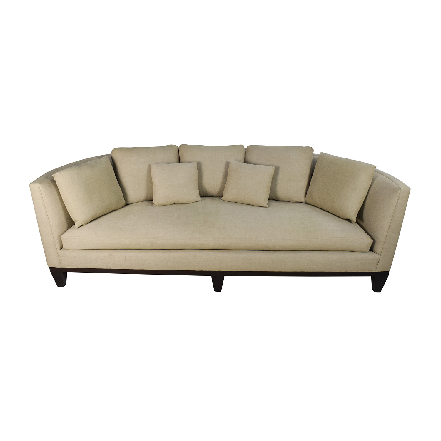 Barbara barry sofas 74 off ashley furniture kylun brown for Conversation sofa