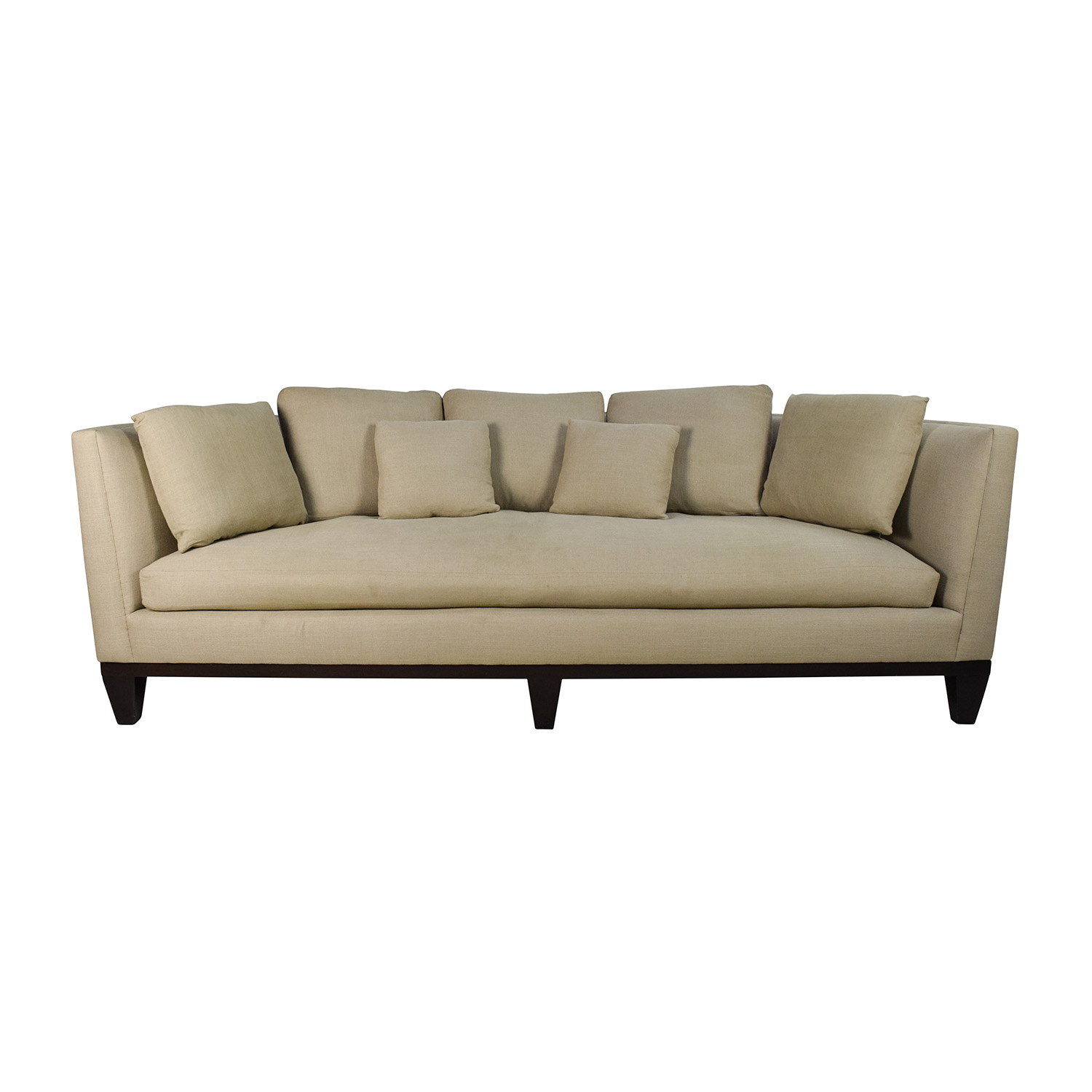 Barbara Barry Barbara Barry Conversation Sofa Tan ...