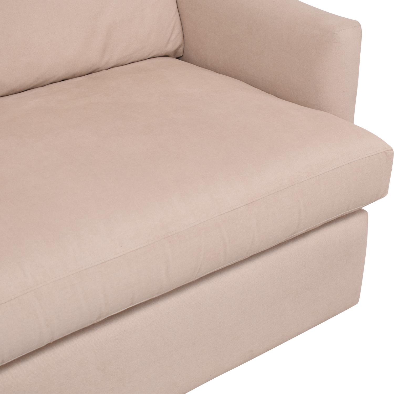 Crate & Barrel Crate & Barrel Lounge Sofa pa