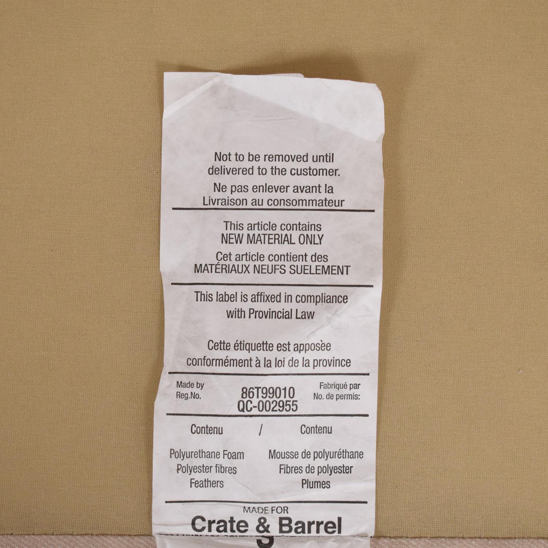 Crate & Barrel Crate & Barrel Lounge Sofa nyc