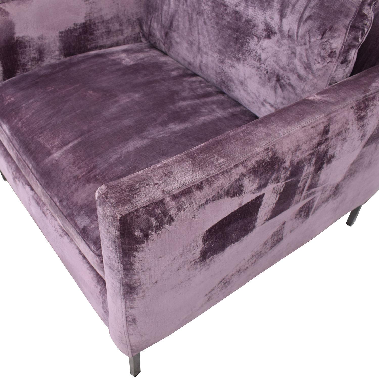 ABC Carpet & Home ABC Carpet & Home Cobble Hill Nolita Chair purple