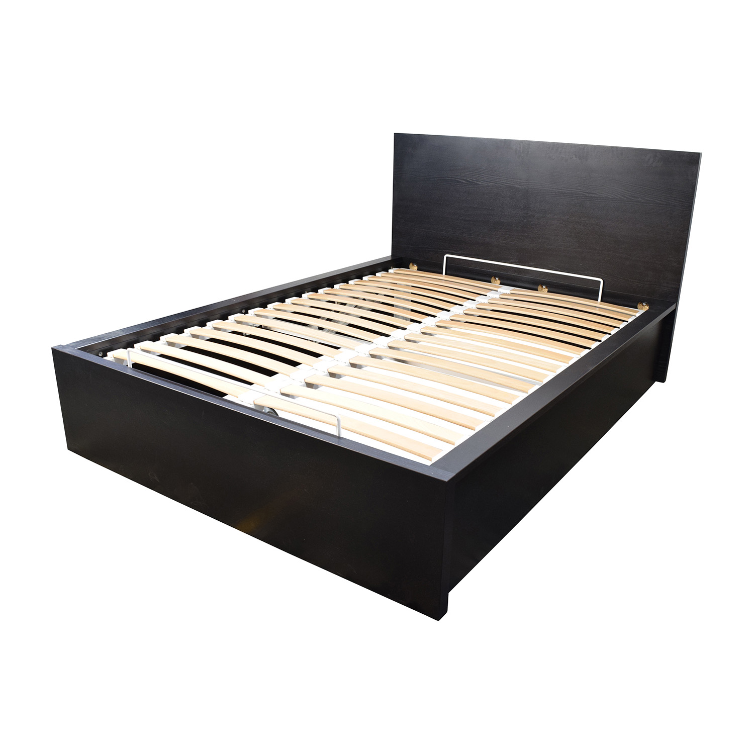 30 off ikea ikea full bed frame with storage beds for Ikea mattress frame
