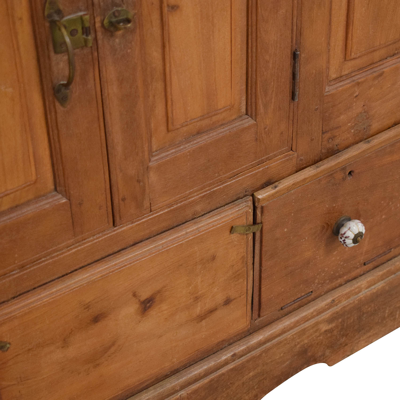 shop Vintage Storage Cabinet  Storage