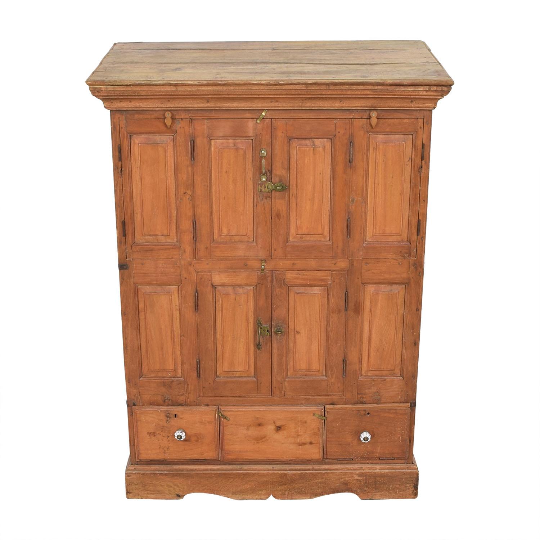 Vintage Storage Cabinet brown